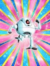 Dokkan Battle Robot Met in Space Giru card (Story Event Desert Rescue! Giru Saves the Day! - Machine Mutant Giru SSR-UR)