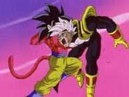 Goku Super Saiyan vs Super Baby Vegeta 2 (5)