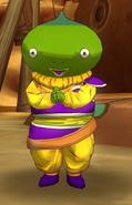 Yardratiano parecido a Hatsuka (Dragon Ball Online)