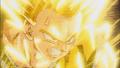 Goku turns Super Saiyan 2 against Yakon