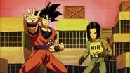 DBS Goku y No.17 están dispuestos a luchar