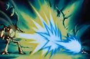 Dr.Wheelo casi mata a Goku