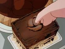 Oolong agarando el pastel 4869