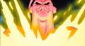 Super Moves of Gotenks - Super Buu breaks Donut