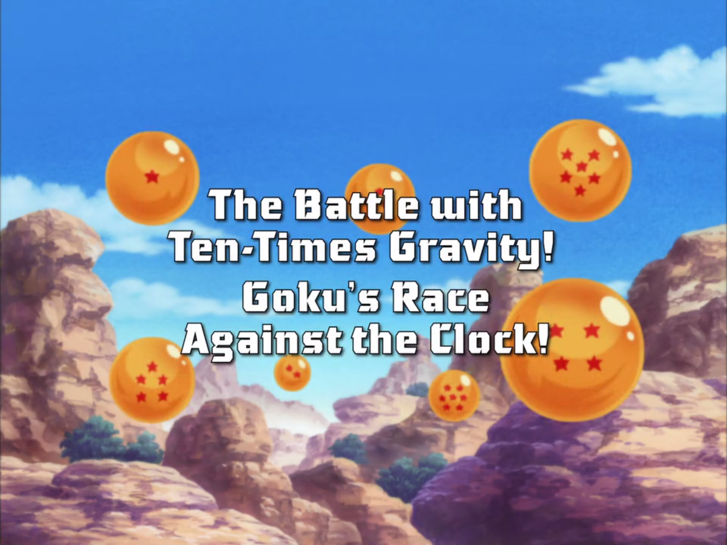 The Battle with Ten-Times Gravity! Goku's Race Against the Clock!