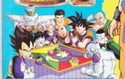 Z-Fighters play against Frieza in a Japanese 90s game