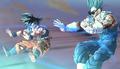 XN - Future Warrior helps Goku's Spirit Bomb