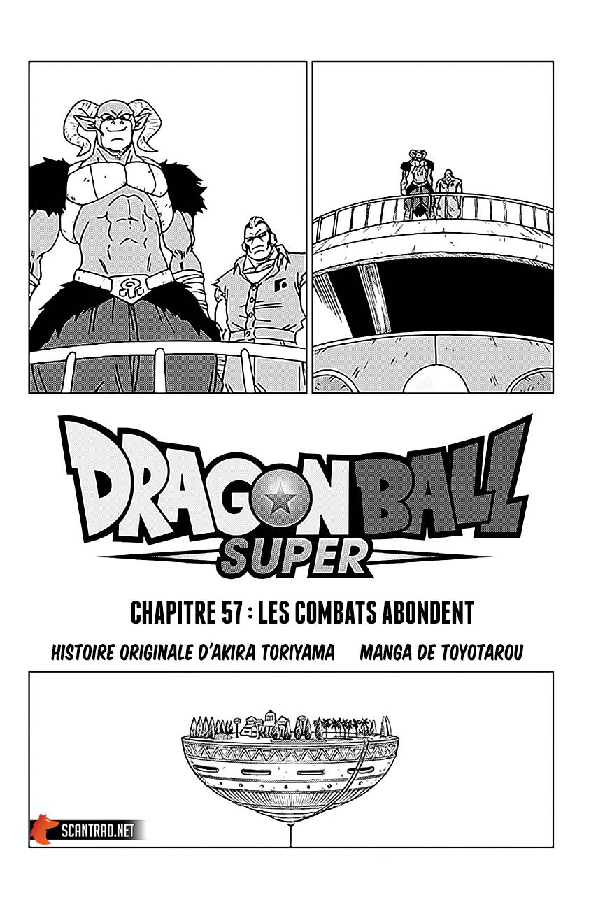 Dragon Ball Super chapitre 057