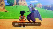 DBZ Kakarot - Gohan si allena con Piccolo