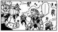 DXRD Caption of a thin Dodoria's race & Appule's race PTO soldier - Revival of F manga chapter 2