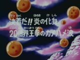 Goku faz um Kaioken aumentado 20 vezes!