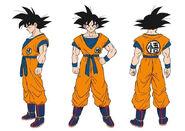Son Goku settei (DBS Broly)