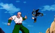 Tenshinhan vs Cell Junior