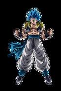 Gogeta Super Saiyan Azul Dokkan Battle render