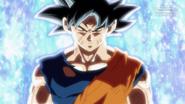 Son Goku Doctrina egoísta Señal SDBH Anime