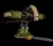 Dragon Ball Revenge of King Piccolo - Robot Pirata