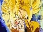 Goku ssj en la pelicula maximo poder