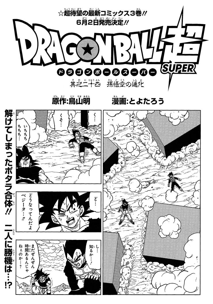 Capítulo 24 (Dragon Ball Super)