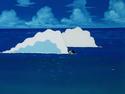 Goku,Krillin Swiming