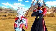 Mira y Towa en la Saga de Cell