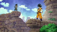 Broly - Goku and Vegeta's First Battle