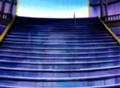 Escaleras de la arena del castillo de la reina Mei