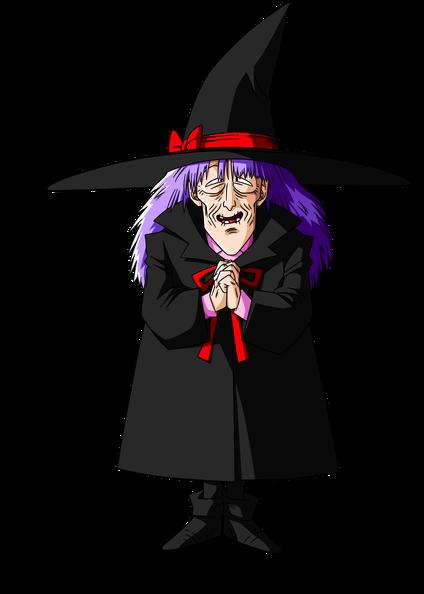 Maudite vieille sorcière