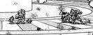 Trio De Dangers vs. Kotsukai, Viara and Panchia