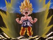 Goku GT subir poder