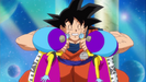 Goku telling them to be friends