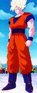 Son Goku en los Juegos de Cell