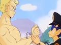 Taro Soramame arrestando al general Blue-1-