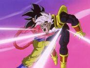 Goku Super Saiyan vs Super Baby Vegeta 2 (9)