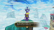 Xenoverse - Cooler's comment on the Cooler's Armored Squadron armor 1
