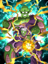 Dokkan Battle Threat to Peace Piccolo Jr. (Giant Form) card (Base Form)