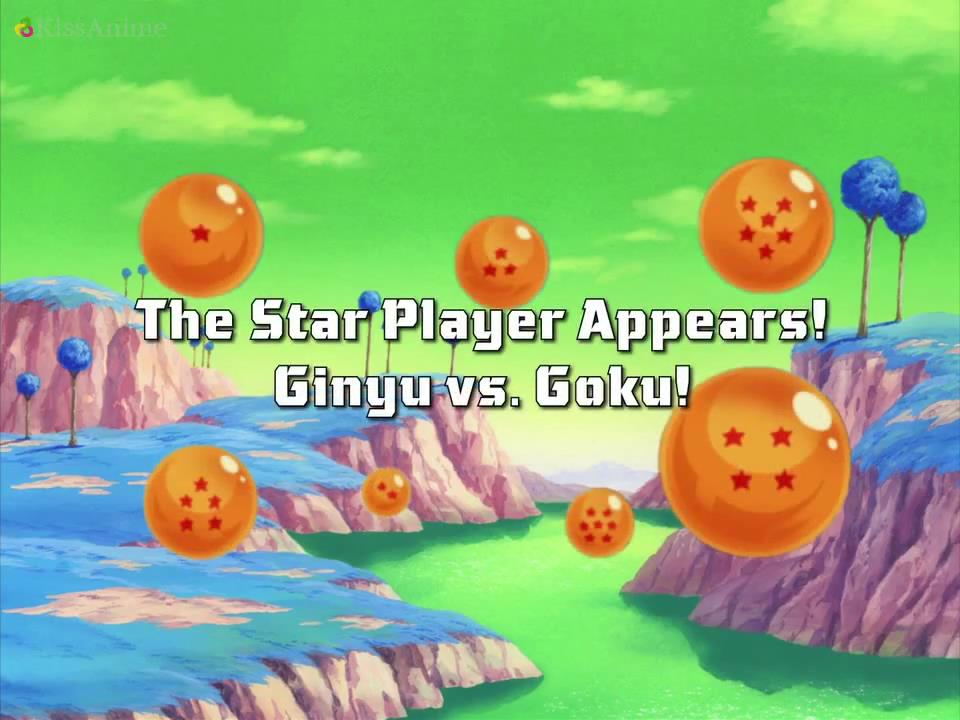 The Star Player Appears! Ginyu vs. Goku!