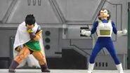 Dragon Ball Kai Super Battle Stage-Paragus y Vegeta