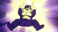 Gohan charges the Masendan against Frieza