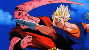 Majin Boo vs Vegeto1