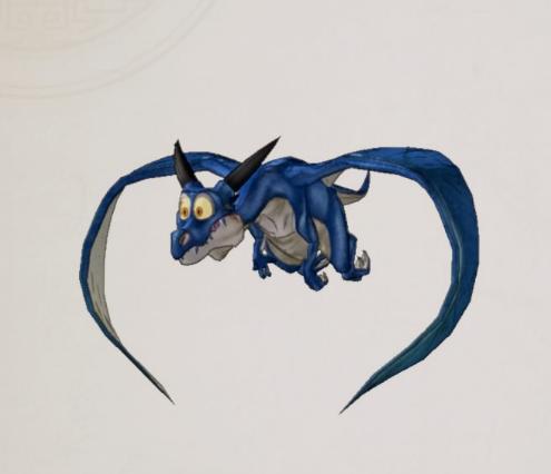 Ptérosaure Azur