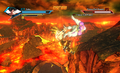 Dragon throw (XV)