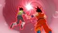 Goku & Vegeta enter Portal
