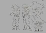 Sketch DBZ11 Goku