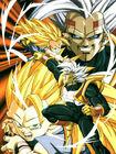 Goku SSJ3 vs Baby (DBGT)