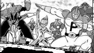 Equipo Universo 3 Manga