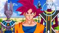 DBS Beerus Congratulating Goku