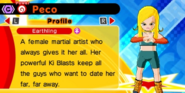 DB Fusions Female Earthling Peco (Character Profile)