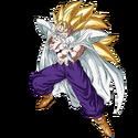 Son Gohan - Adolescent (Super Saiyan 3) (Artwork)