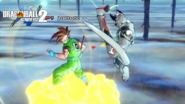 DBXV2 Earthling Future Warrior 2 Power Pole Pro (Awoken Skill)