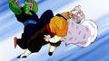 Géro humilié par Piccolo
